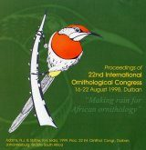 Proceedings of the 22nd International Ornithological Congress held in Durban, South Africa, 1998: CD-ROM