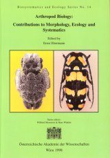 Arthropod Biology: Contributions to Morphology, Ecology and Systematics