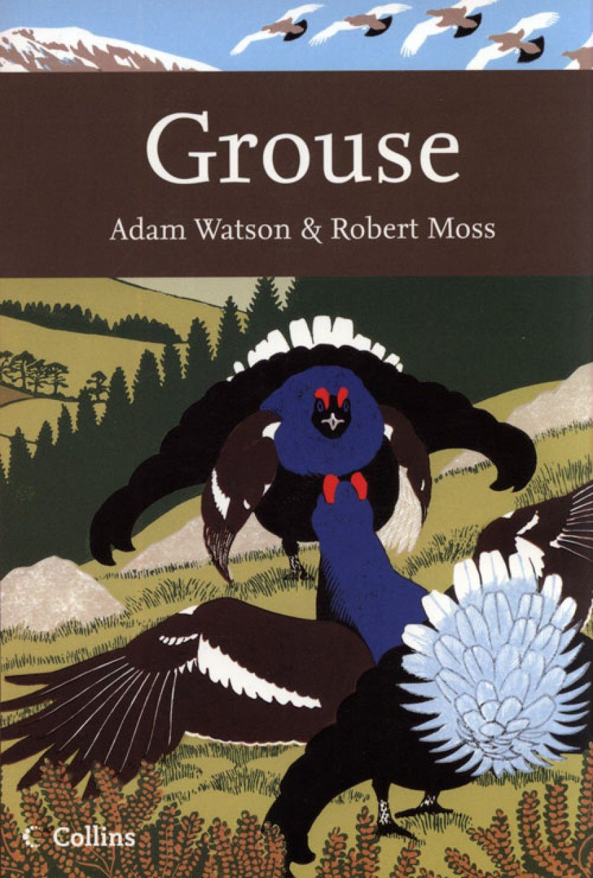 Grouse by Adam Watson and Robert Moss (Used, Hardcover, First Edition, 2008)