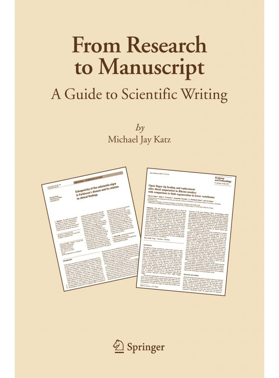 guidelines for writing a science research paper