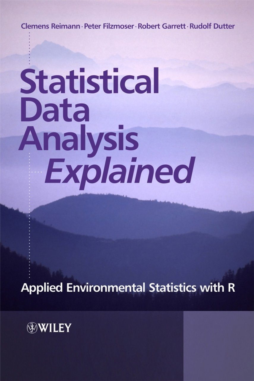 Statistical Data Analysis Explained  Applied Environmental