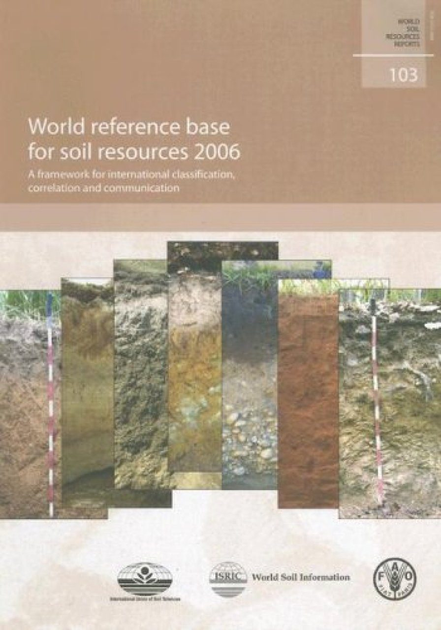 World reference base for soil resources 2006 edited by for About soil resources