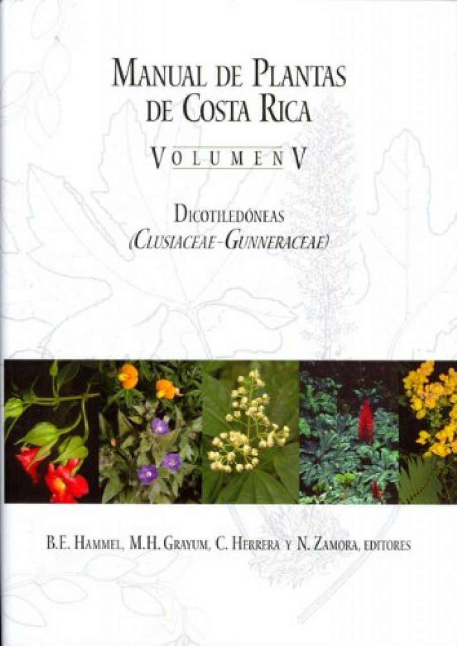 manual de plantas de costa rica volume v dicotiled neas