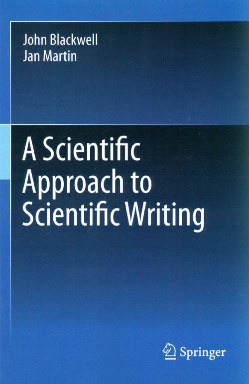 scientific writing Overview a critical aspect of the scientific process is the reporting of new results in scientific journals in order to disseminate that information to the larger community of scientists.