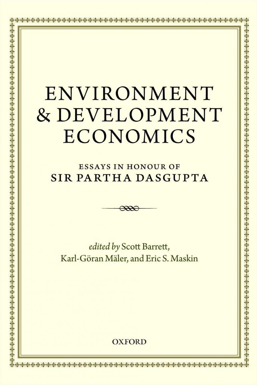 environmental economics essay Reduction in the pollution intensity of economic activity in europe, both because of  the dynamic  environmental protection and economic growth, and support.