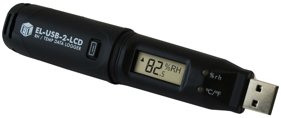 Event Data Logger With Screen : Easylog usb temperature and humidity logger with lcd