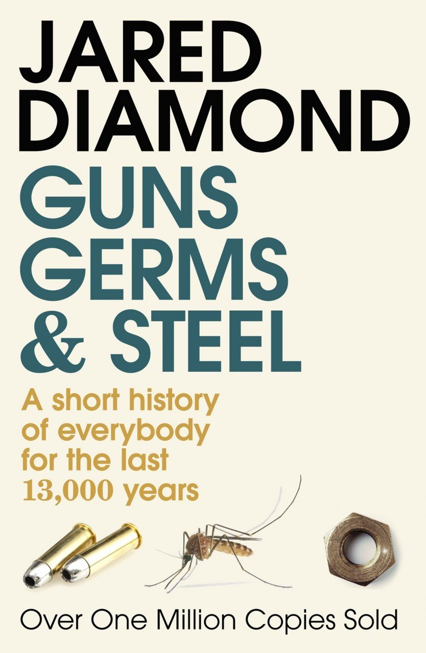 the details of truth in the book guns germs and steel by jared diamond A summary of jared diamond's important arguments in.