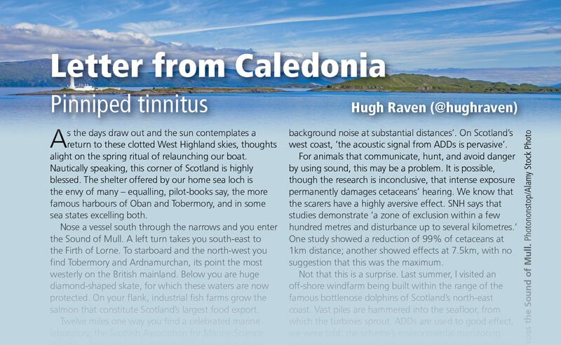 Letter from Caledonia