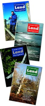 Conservation Land Management front covers