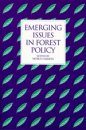 Emerging Issues in Forest Policy