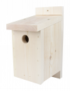 Traditional Wooden Bird Nest Box