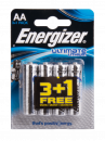AA Lithium Battery (LR6): 4 Pack