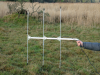 Short 3-Element Yagi Handheld Antenna 151 MHz