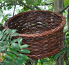 Long-Eared Owl and Hobby Nesting Basket