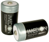 Imedion Rechargeable D-cell Batteries (10,000mAh): Pack of 2