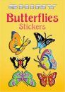 Shiny Butterfly Stickers