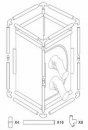 BugDorm-4 Insect Rearing Cage (47.5 x 47.5 x 93cm)