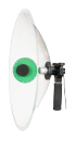 Hi-Sound Stereo Parabolic Microphone