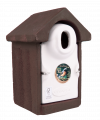 Vivara Pro Seville WoodStone Nest Box with 32mm Oval Hole