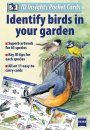 ID Insights Pocket Cards: Identify Birds in Your Garden