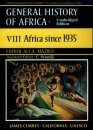 UNESCO General History of Africa, Volume 8