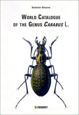 World Catalogue of the Genus Carabus L. (Coleoptera, Carabidae)