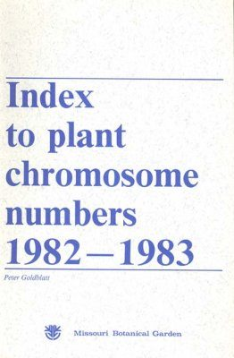 Index to Plant Chromosome Numbers, 1982-1983
