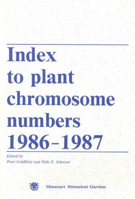 Index to Plant Chromosome Numbers, 1986-1987