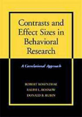 Contrasts and Effect Sizes in Behavioural Research
