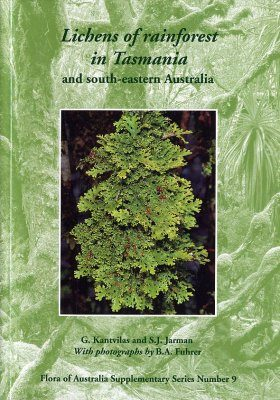 Lichens of Rainforest in Tasmania and South-Eastern Australia