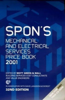 Spon's Mechanical and Electrical Services Price Book 2001
