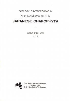 Ecology, Phytogeography and Taxonomy of the Japanese Charophyta
