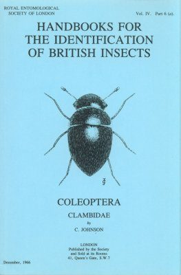 RES Handbook, Volume 4, Part 6a: Coleoptera - Clambidae