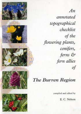 Annotated Topographical Checklist of the Flowering Plants, Conifers, Ferns and Fern Allies of the Burren Region