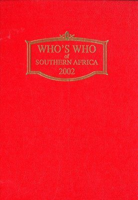 Who's Who of Southern Africa 2002