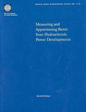 Measuring and Apportioning Rents from Hydroelectric Power Developments