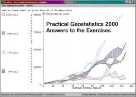 Practical Geostatistics 2000 - Answer to the Exercises