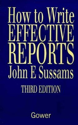 How to Write Effective Reports