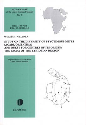 Study on the Diversity of Ptyctimous Mites (Acari, Oribatida) and Quest for Centres of its Origin: The Fauna of the Ethiopian Region