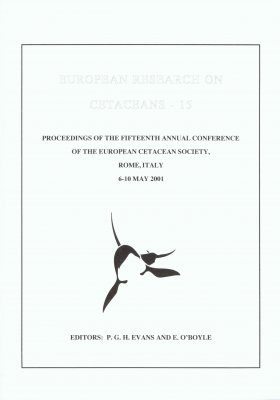 European Research on Cetaceans, Volume 15
