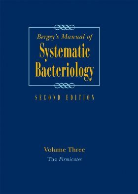 Bergey's Manual of Systematic Bacteriology, Volume 3