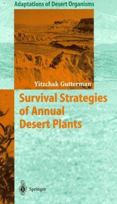 Survival Strategies of Annual Desert Plants