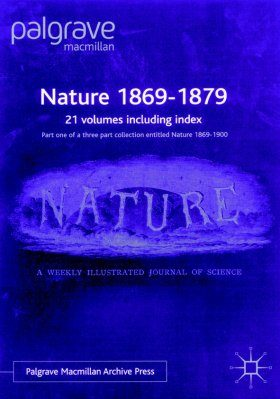 Nature: 1869-1879 (21-Volume Set)