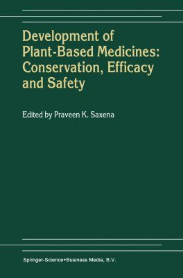Development of Plant-Based Medicines