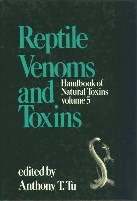 Handbook of Natural Toxins, Volume 5
