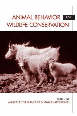 Animal Behaviour and Wildlife Conservation