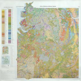 Soils of England and Wales, Sheet 3 (Flat): Midland and Western England