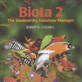 Biota 2: The Biodiversity Database Manager