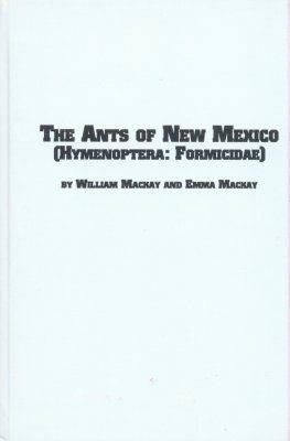 The Ants of New Mexico (Hymenoptera: Formicidae)