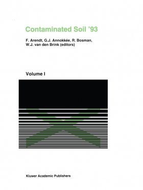 Contaminated Soil '93 (2-Volume Set)